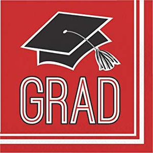 Congrats Grad Beverage Napkins - usa-party-store