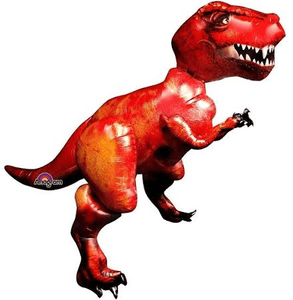 Dino T-Rex Airwalker Foil Balloon - USA Party Store