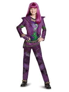 Disguise Mal Deluxe Descendants 2 Costume, Purple - usa-party-store