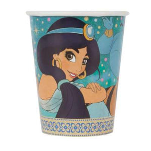 Disney Aladdin 9oz Paper Cups 8ct - USA Party Store