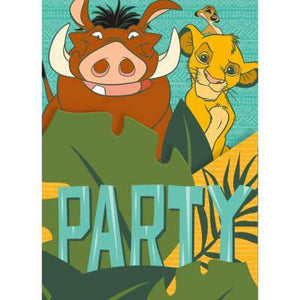 Disney Lion King Invitations 8ct - USA Party Store