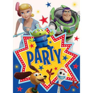Disney Toy Story 4 Invitations 8ct - USA Party Store