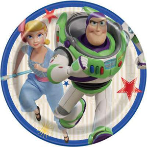 "Disney Toy Story 4 Round 7"" Dessert Plates 8ct - USA Party Store"