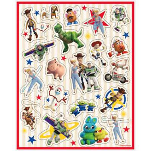 Disney Toy Story 4 Sticker Sheets 4ct - USA Party Store