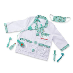 Doctor Role Play Costume Set ages 3-6 Yrs - USA Party Store