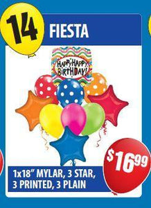 Balloon Bouquet Package - USA Party Store