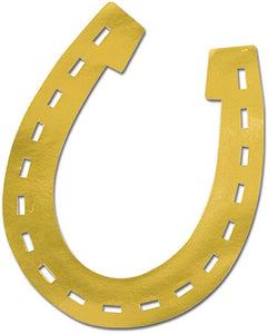 Foil Horseshoe Silhouette - USA Party Store