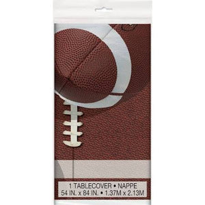 Football Party Table Cover - USA Party Store