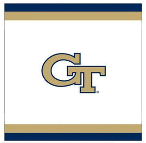 Georgia Tech Lunch Napkins 20 Ct - USA Party Store