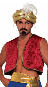 Forum Novelties Genie Vest Adult Costume (Red) - USA Party Store