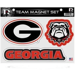 Georgia Bulldogs Team Magnet Set - USA Party Store