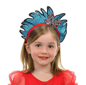 Dr Seuss Thing 1&2 Glitter Headband - USA Party Store