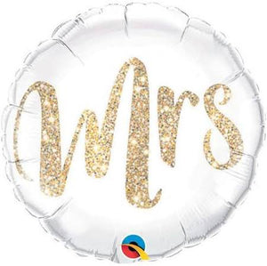 Glitter Gold  Foil Balloon - USA Party Store