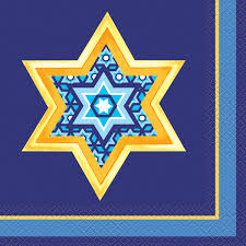 Hanukkah Lunch Napkins - USA Party Store