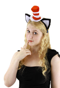 Dr. Seuss Cat in the Hat  Headband - USA Party Store