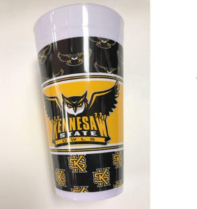 "Kennesaw  State Owls 16"" Cup - USA Party Store"