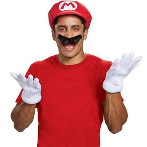 Adult Super Mario Accessory Kit - size: OS - USA Party Store