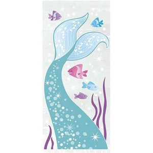 Mermaid Cellophane Bags - USA Party Store