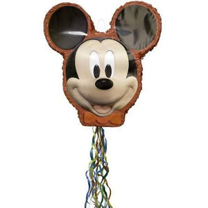 Mickey Mouse Pinata - Pull String - USA Party Store