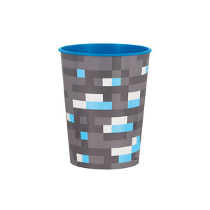 Minecraft 16oz Plastic Favor Cup (1) - USA Party Store