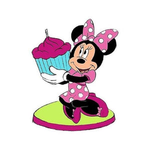 Minnie Mouse Birthday Candle - USA Party Store