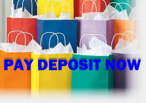 PAY YOUR DEPOSIT NOW - USA Party Store