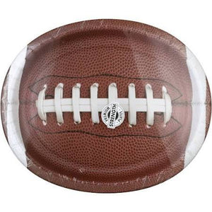 Paper Art Sturdy Style Paper Plates, Touchdown Time - 8 plates - USA Party Store