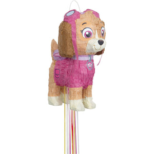 Paw Patrol - Pull String Skye Pinata - USA Party Store