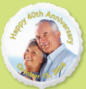 Custom Mylar Photo Balloon ***Pick up or Delivery*** - USA Party Store