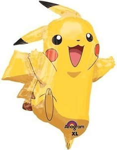Pikachu Super Shape Foil Balloon - USA Party Store