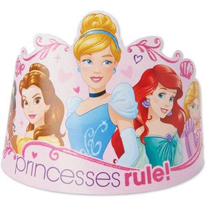 Disney Princess - 8 tiaras - USA Party Store