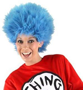 Dr. Seuss Thing 1&2 Plush Wig - USA Party Store