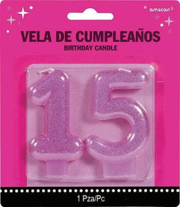 Quinceanera Birthday Candles - USA Party Store