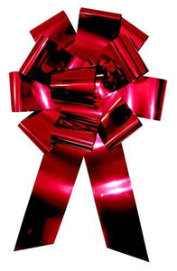 "25"" Red Metallic Car Bow - USA Party Store"