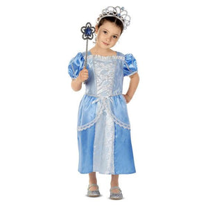 Royal Princess Role Play Costume Set 3-6 yrs - USA Party Store