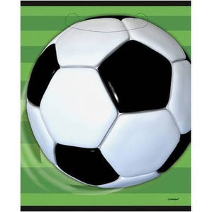 Soccer Party Favor Bags, 8pk, - USA Party Store