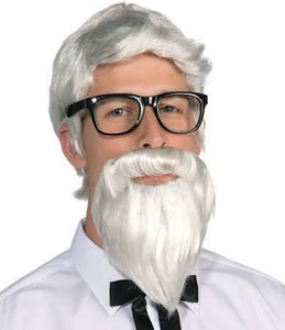 Southern Colonel Wig & Beard - Size: OS - USA Party Store