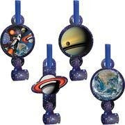 Space Blast Blowouts (8 Pack) - USA Party Store