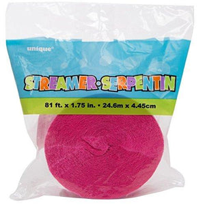 Crepe Paper Streamers - USA Party Store