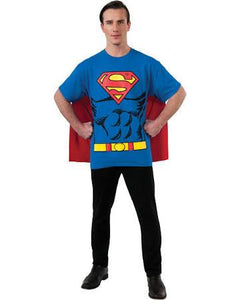 Superman Shirt Costume - USA Party Store