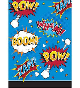 Superhero Slogans Treat Bags - USA Party Store