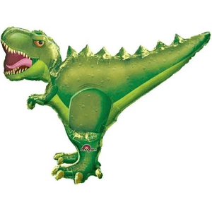 "SuperShape T-Rex 36"" Balloon - USA Party Store"