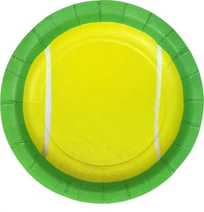 "Tennis Plate 7"" - USA Party Store"