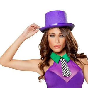 Top Hat Adult Purple - USA Party Store