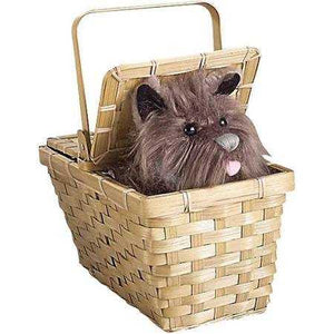 Toto with Basket, Brown - USA Party Store