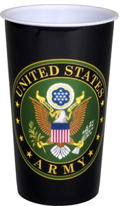 US Army Souvenir Cup 20 oz - USA Party Store
