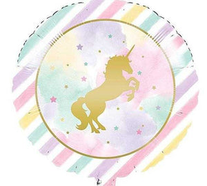 Unicorn Dinner Paper Plate - USA Party Store