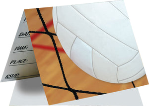 Volleyball Invitations - USA Party Store