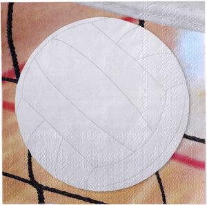 Volleyball Beverage Napkin - USA Party Store