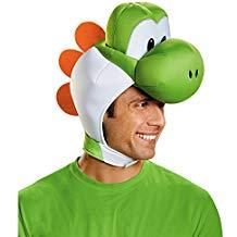 Super Mario Bros Yoshi Adult Kit, Green, One Size - USA Party Store
